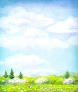 Dibujo sobre un cielo